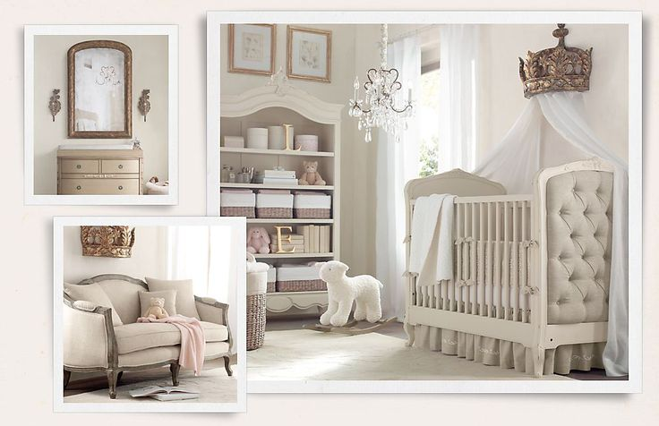 A little washed out but beautiful!  Restoration Hardware Baby & Child