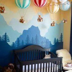 A veces es agotador pensar y diseñar cómo obtener el tema de la habitación del bebé.