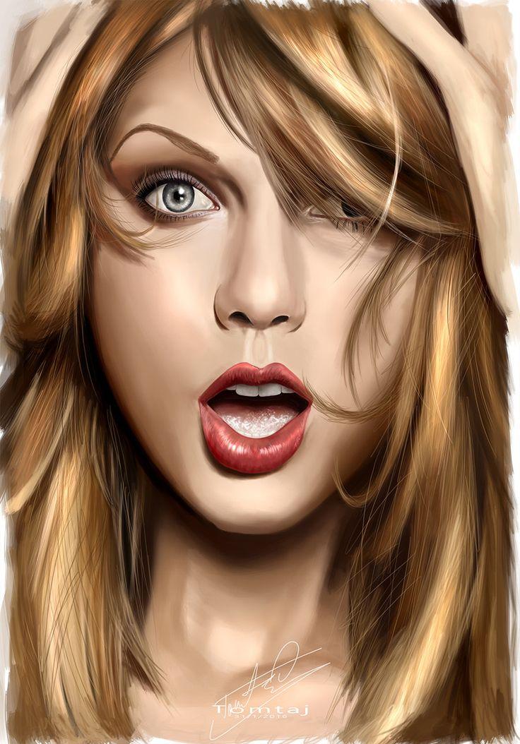 Taylor Swift by Tomtaj1.deviantart.com on @DeviantArt