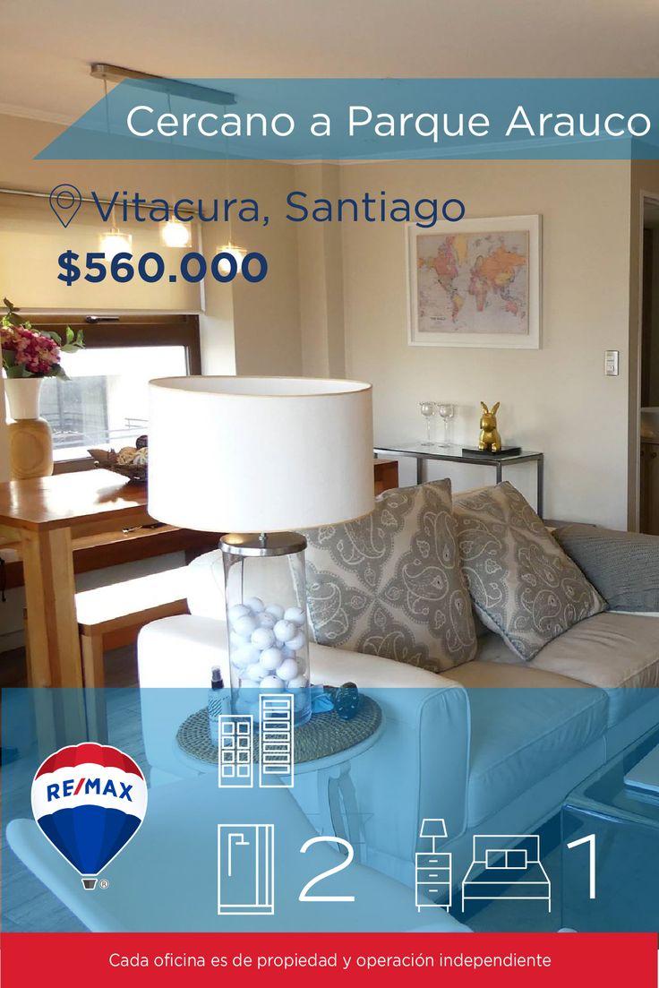 [#Departamento en #Arriendo] - #Departamento cercano a Parque Arauco 🛏: 1 🚿: 2 👉🏼 http://www.remax.cl/1028018037-64 #propiedades #inmuebles #bienesraices #inmobiliaria #agenteinmobiliario #exclusividad #asesores #construcción #vivienda #realestate #invertir #REMAX #Broker #inversionistas #arquitectos #venta #arriendo #casa #departamento #oficina #chile