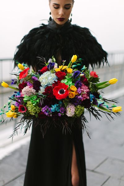 Glamour Valentino collection Photoshoot decorated by Flowers Time #luxury#black#bright#red#yellow#green#photoshoot#toronto#model#fashion#vogue#style#bridalbouquet