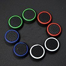 Gotor 4 Pairs Thumb Grips Thumbstick Stick Joystick Cap Cover for PS4 PS3 PS2 Xbox 360 Xbox one Controller -- Read more reviews of the product by visiting the link on the image.