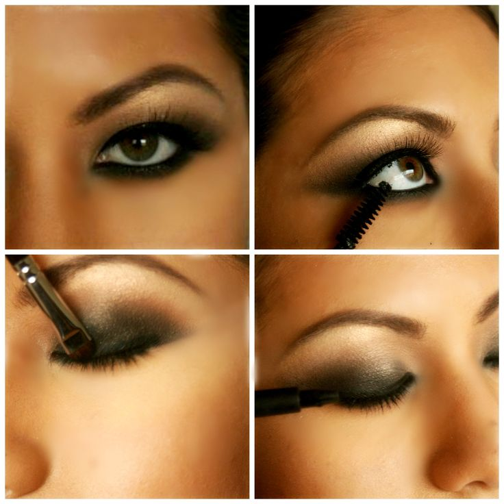smokey eye collage: Learn how to create a smokey eye at www.makeuptutorials.org makeup by: Kecia Littman http://www.keciabella.com