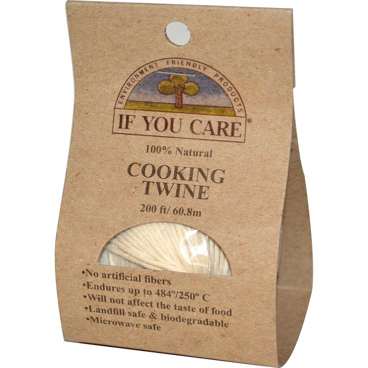If You Care, 100% Natural, Cooking Twine, 200 ft (60.8 m) - iHerb.com