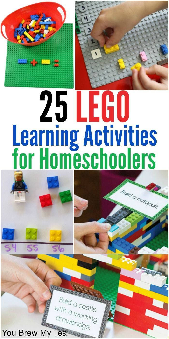 Don't miss our top list of LEGO Building Games for Homeschool Classrooms! Using these on a regular basis has helped our son advance easily in math grades!
