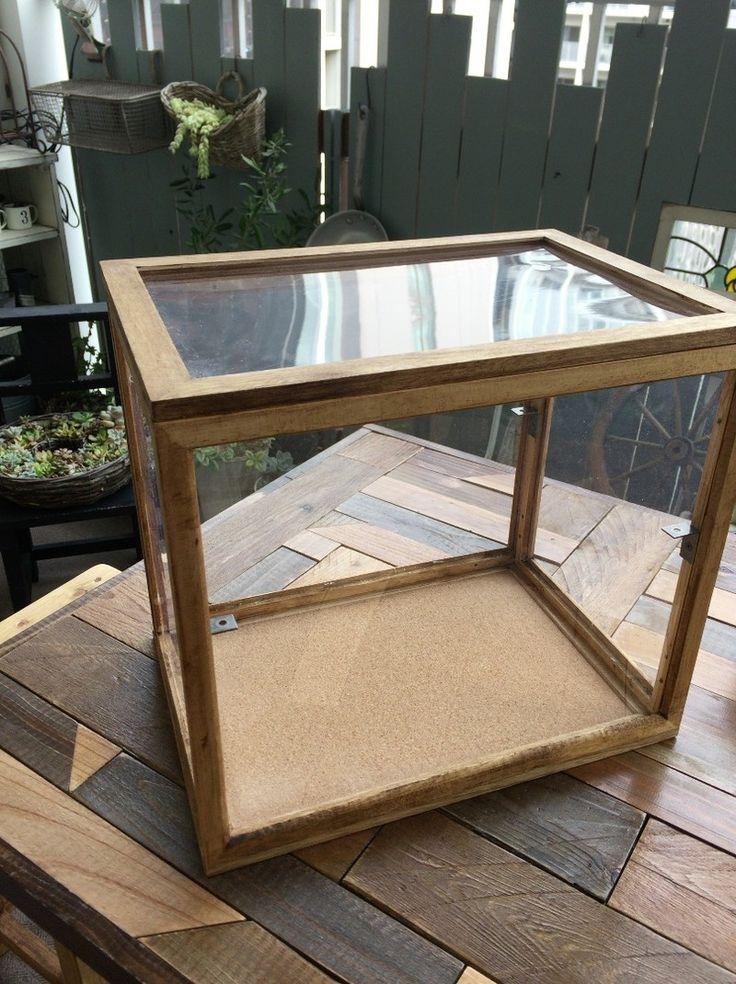 セリアでカフェ風アンティーク風パンケース ガラスケース の作り方 Limia リミア インテリア 収納 手作り棚 食器棚 手作り