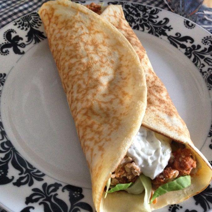 hjemmelavet madpandekager med pulled chicken og tzatziki!   amatoerkokken