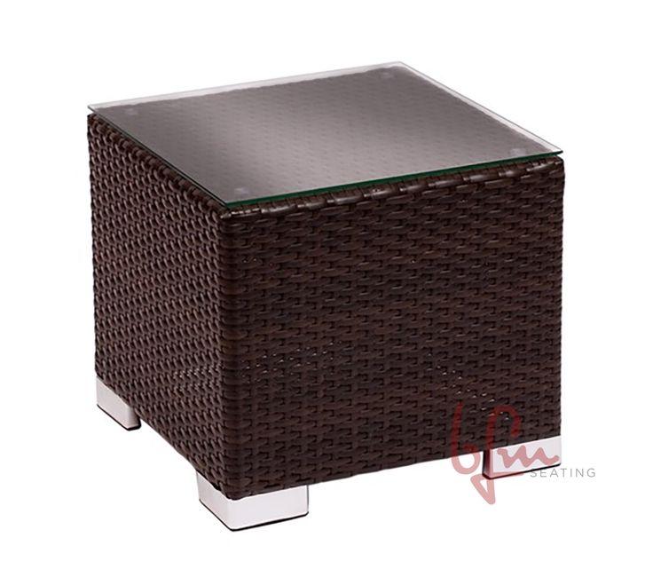 """Aruba"" lounge furniture #endtable #RestaurantFurniture #restaurant #hospitality #sofa #ModularFurniture #LoungeFurniture #OutdoorFurniture #design #wicker #aluminum #outdoor#design #wicker #aluminum #outdoor"