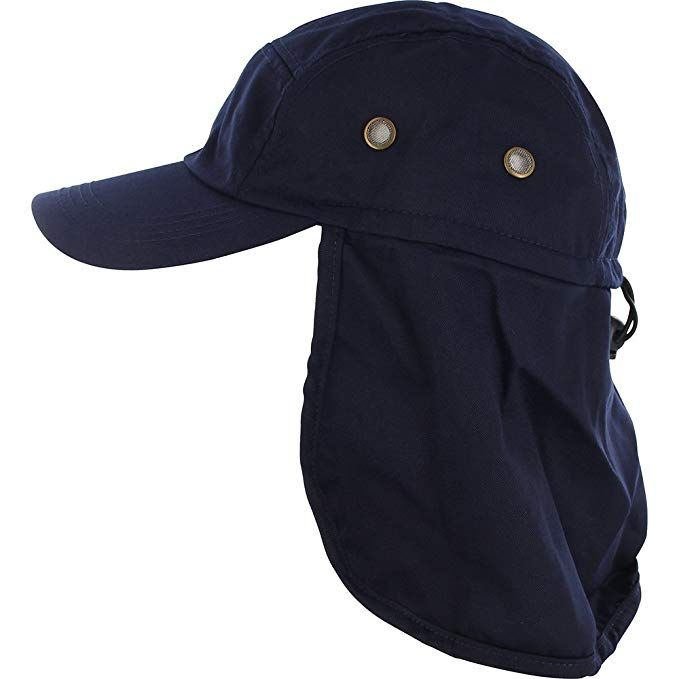 Fishing Cap With Ear And Neck Flap Cover Fly Fishing Clothing Outdoor Sun Protection Fishing Hat