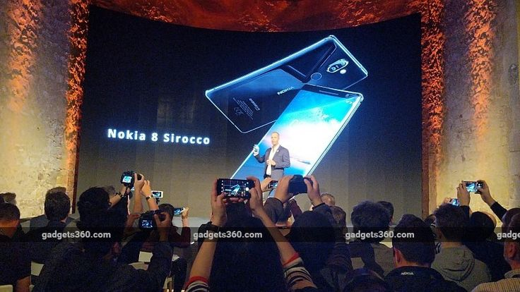 Nokia 8 Sirocco With Dual Rear Cameras Stainless Steel Frame Launched at MWC: Price Specifications  Nokia 8 Sirocco was launched by HMD Global on Sunday at the Nokia Mobile launch event in Barcelona. The smartphone is a redesigned version of the Nokia 8 flagship launched last year featuring a curved glass finish and a precision-crafted stainless steel frame. The company says the stainless steel frame is 2.5 times stronger than 6000 series aluminium used in the predecessor and its also more…