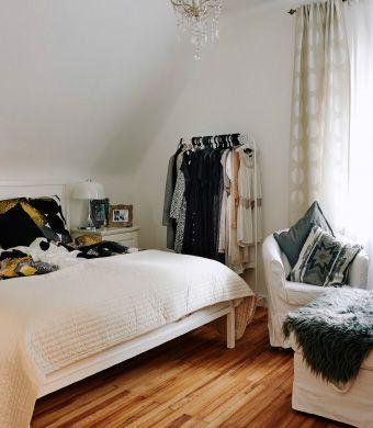 La camera da letto semplice e rilassante di Mona - IKEA