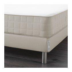 IKEA - EIDFJORD, Base a doghe per materasso, 90x200 cm, , È facile da trasportare poiché la base per materasso è confezionata in un pacco piatto.È facile coricarsi e alzarsi grazie alla base per materasso che ti permette di ottenere un letto più alto.Ti permette di creare un letto coordinato insieme al materasso a molle HAFSLO.È facile da pulire poiché puoi togliere la fodera e lavarla in lavatrice.