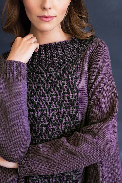 Ravelry: #08 Mosaic Poncho Pullover pattern by Norah Gaughan