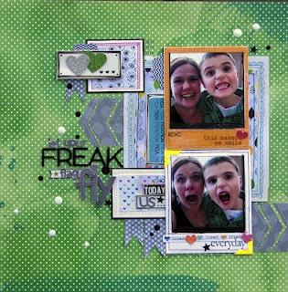 Layout by Nicole Nowosad  Scrapbook Circle Daydreamer Kit 2012