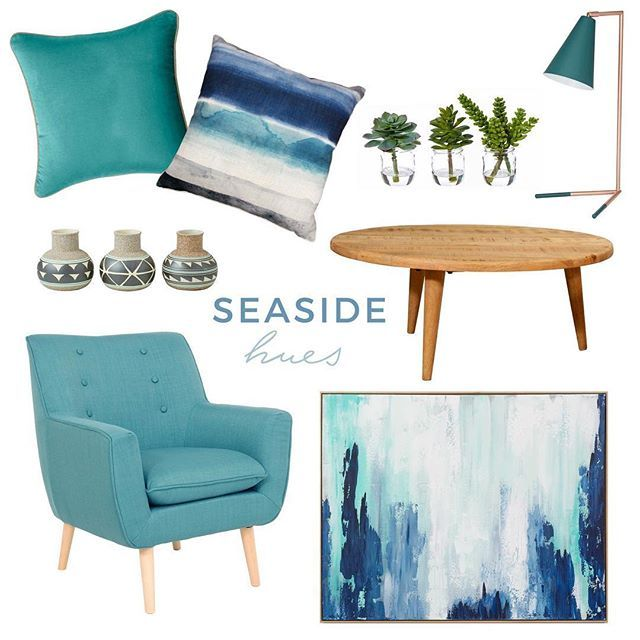 Seaside living! Create a coastal haven this Summer in your home and enjoy 25% off everything in-store and online #ozdesignfurniture #seaside #coastal #homewares #living #home #decor #decorate #styling #homeinspo #design #F4F #L4L #tagforlikes #instafollow