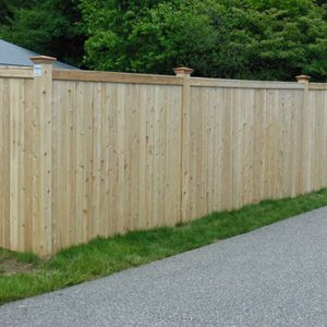 Wood fencing fence ideas pinterest fence styles for Cheap tall privacy fence
