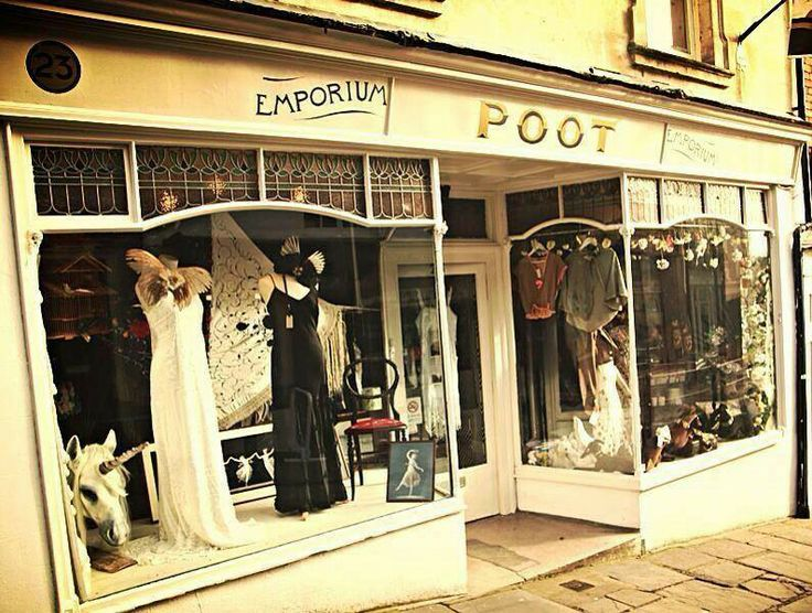 POOT Emporium in Frome. A forward thinking vibrant  cooperative. This is where I sell my womenswear brand and knicker label. ♥