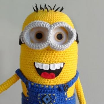 Despicable me, Minions and Amigurumi on Pinterest