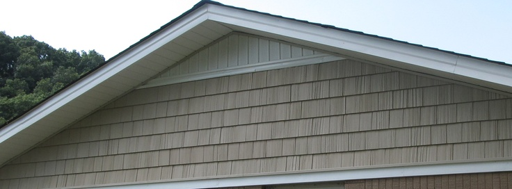 Vinyl Shake Siding On A Gable Vinyl Shake Siding