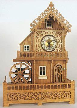 Mill Clock Plan