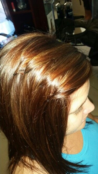 5BR with Highlight done today by Chenene