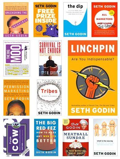 Win a Copy of Each of Seth Godin's Books http://goinswriter.com/giveaways/seth-godin/?lucky=2503 #sethgodin #jeffgoins
