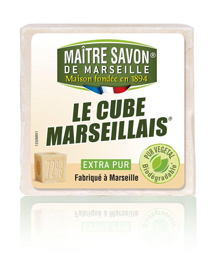Cube Marseillais Maître Savon de Marseille