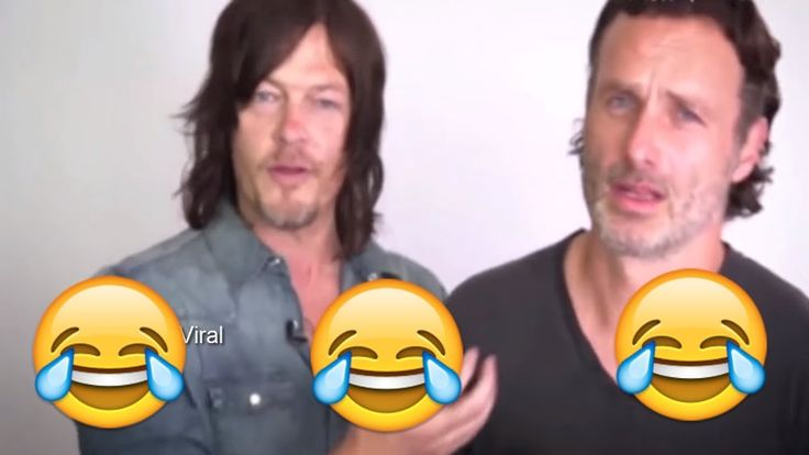 walking dead bloopers Cast Funny moments  2018 Part 1
