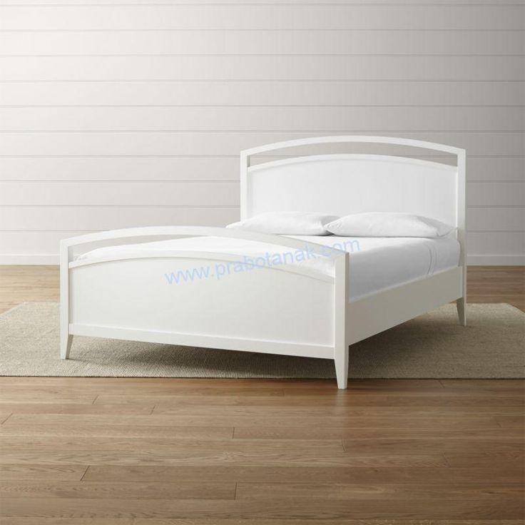 Tempat Tidur Minimalis Putih Terbaru 2017 sangat hits di tahun 2017 dengan desain konsep kamar minimalis warn bersih yaitu putih dan pasti kokoh nan indah