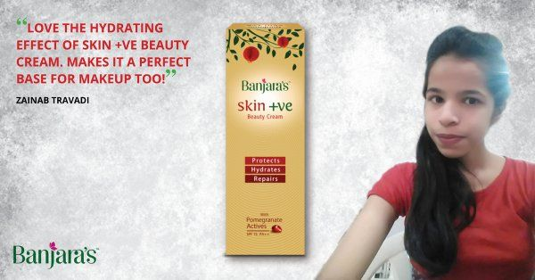 Zainab Travadi is bowled over by the fragrance, consistency and top-of-the-rung products all jam-packed into every tube of Banjara's Skin +ve Beauty Cream.    Thank you Zainab for the review. Read up Zainab's entire review here and decide for yourself.   http://zainabtravadi.blogspot.in/2016/04/banjaras-skin-ve-beauty-cream-review.html