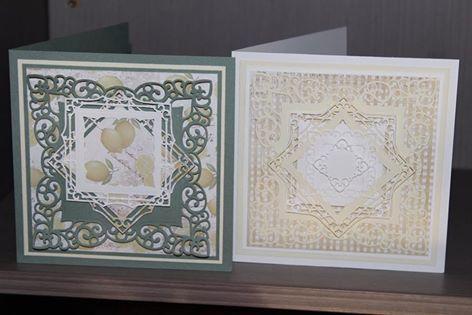Charlottes Web Scrapbooking, Stamping & Papercraft - Lemon Meringue Pie Class - Rachael