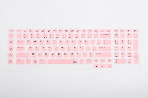 Leze - Ultra Thin Soft Keyboard Protector Skin Cover for Alienware M18X R3 2013 Version 2015 Alienware 17 R2 R3 & Alienware M17 2015 Versoin Game Laptop - Pink