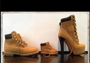 A family that styles together stays together and the Carters certainly know what it's like to be fashionable. Beyonce took to Instagram Wednesday to display their matching fashion sense. The photo shows Jay Z's Timberland boots lined up behind Blue Ivy's teeny tiny boots of the same style and led by Mrs.