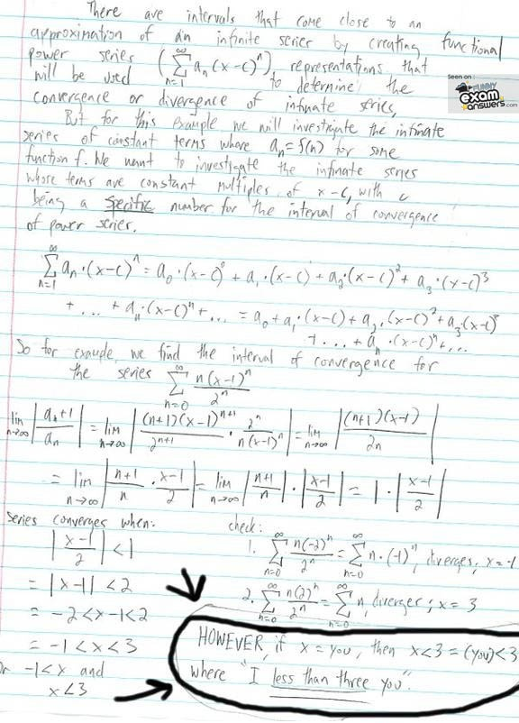 Crazy essay answers