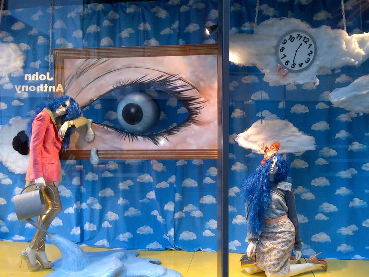 Bristol Harvey Nichols Windows January 2013 Freelancing on these windows was actually amazing serialism theme .. so much fun
