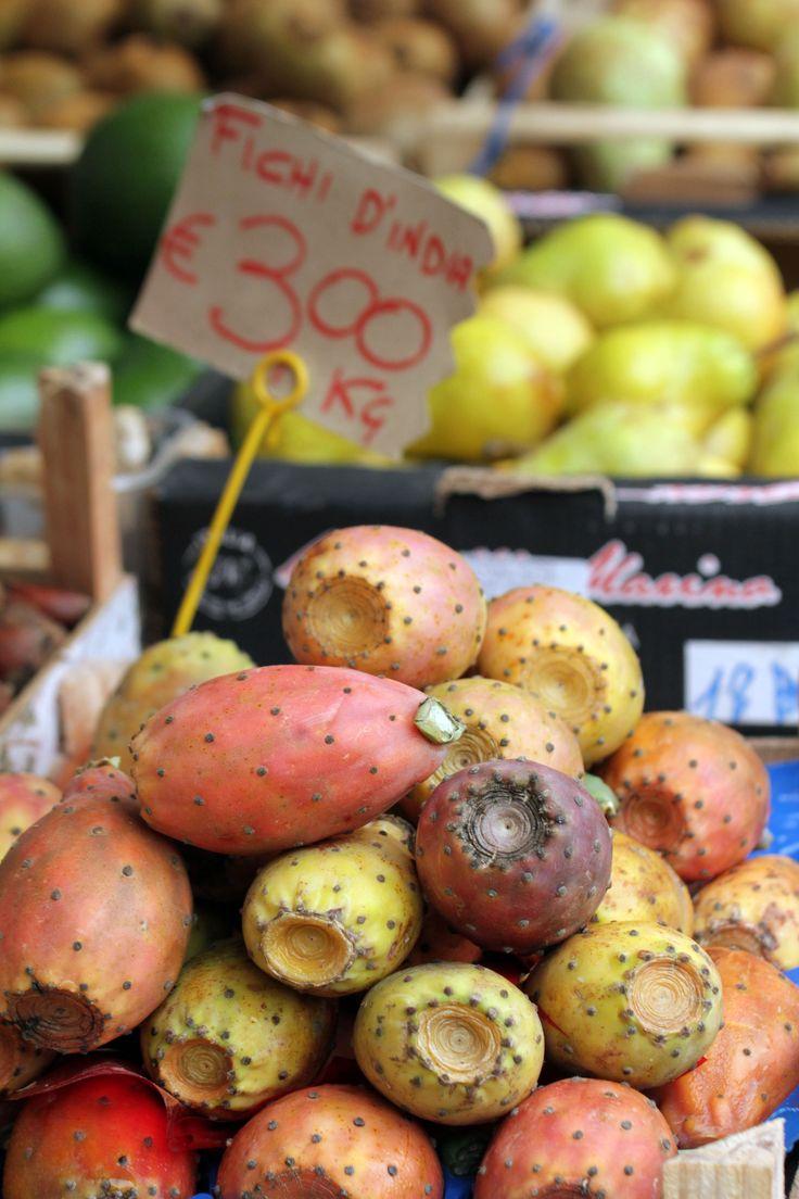 Sicilian fruits as Sicilian people: thorns outside, sweetness inside!