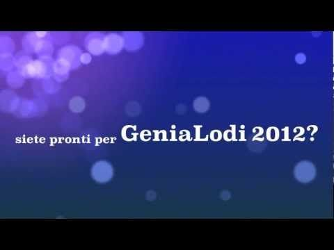 GeniaLodi 2012 - Il Trailer - Per ri-trovare la biodiversità intorno a noi.