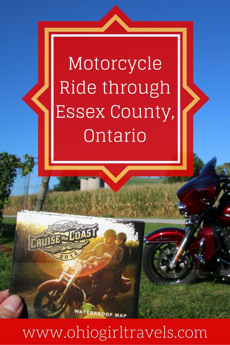 Are you looking for a weekend trip to Ontario? What better way to see all that the landscape has to offer than a motorcycle ride through Windsor and Essex County with the Cruise the Coast campaign. Check out our rider approved route and some biker friendly stops in our biker itinerary through Essex County, Ontario. Don't forget to save this motorcycle itinerary to your travel board!
