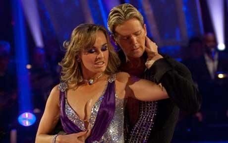 Strictly Come Dancing: Martina Hingis first celebrity voted off