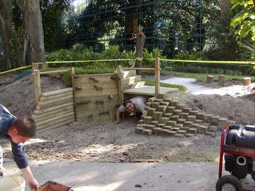 The Learning Landscape: Longevity of wood in Natural Playscapes