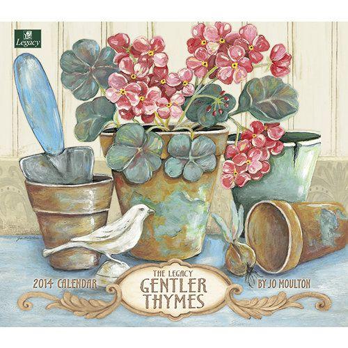 Folk Art > Gentler Thymes 2014 Wall Calendar