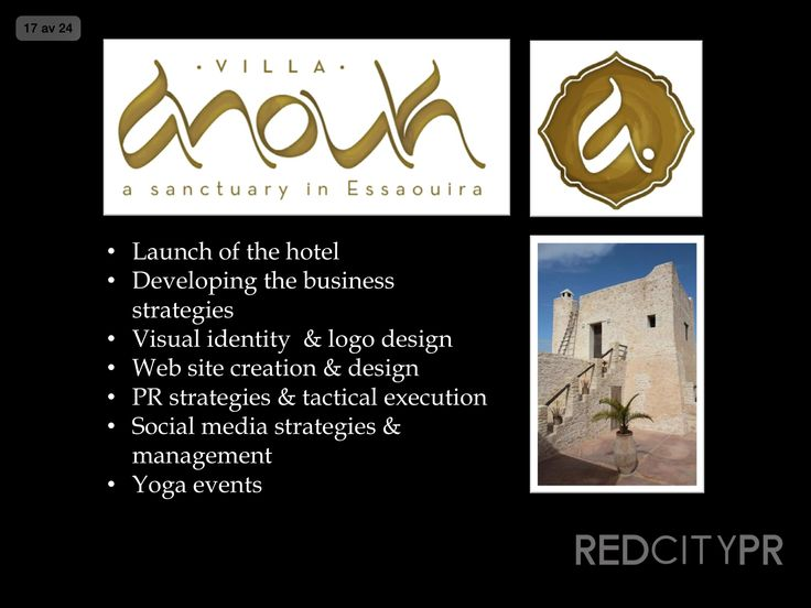 Red City PR client Villa Anouk in Essaouira