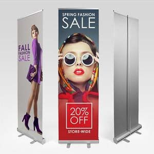Retractable Banner Stands Retractable Banner Stands are lightweight, portable, and includes a carrying case. This stand is a convenient and professional way to showcase your products and services. And                                                                                                                                                     More