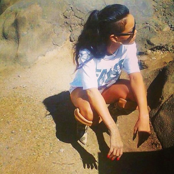 Instagram Pics Of The Day: Rihanna Goes On SafaRIH In South Africa   Grazia Fashion