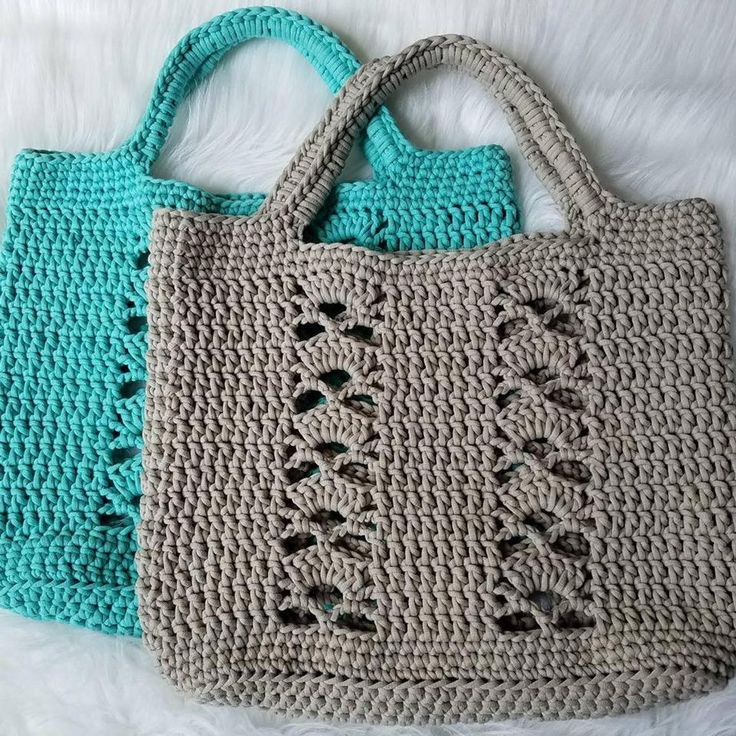 The Deco Tote PATTERN crochet pattern tote bag beach bag | Etsy – #Bag #beach #C…