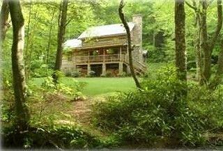 Boone Cabin Rental: Sleepy Creek-antique Log Cabin On Beautiful Stream Near Boone | HomeAway