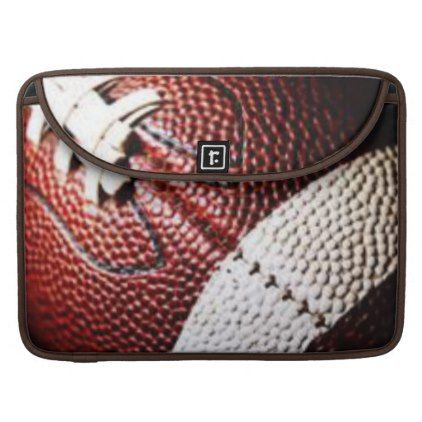new football sleeve for MacBook pro  $78.20  by coffeeface  - cyo customize personalize unique diy