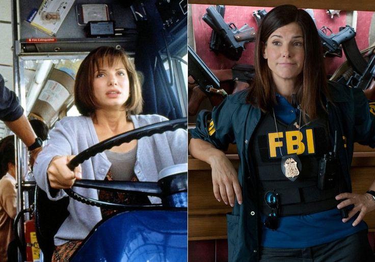 Sandra Bullock, à 30 ans et à 48 ans : Avant/après : ces stars ont plutôt bien vieilli - Linternaute