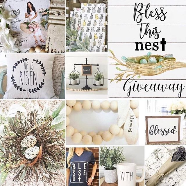 💐🐰BLESS THIS NEST GIVEAWAY!🐰💐  @crispcollectiveig on Instagram!