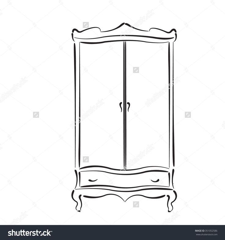 stock-vector-sketched-vintage-wardrobe-vintage-closet-vector-illustration-wardrobe-icon-wardrobe-logo-351052586.jpg 1,500×1,600 pixels